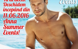 Deschidere Sezon 2016 –  Piscina ANNA Summer Events