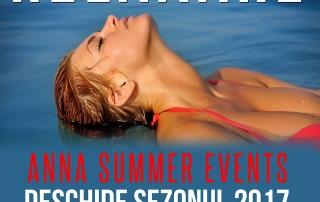 Piscina ANNA Summer Events este deschisă. 1 IUNIE 2017  :  Intrare Liberă